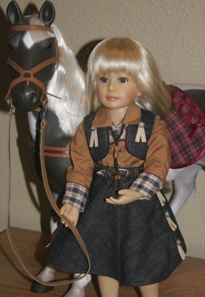 18 American Girl Vintage 1940's Western by The2ndLifeMercantile, $6.00