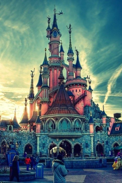 Disney Paris...  Never forget..ever.