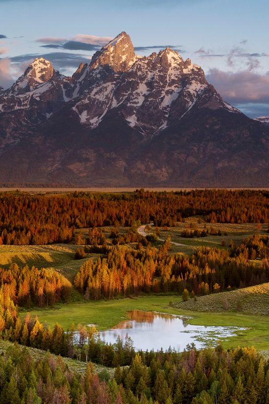 Grand Teton, Wyoming,
