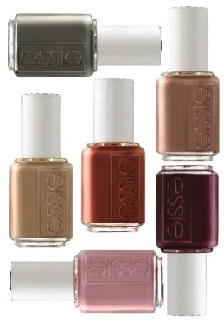 #Essie fall colors