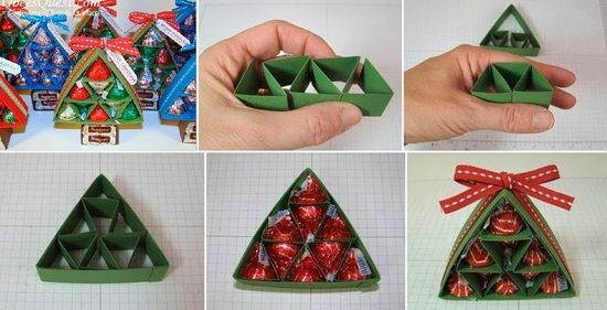 Hershey's Kisses Christmas Tree Gift