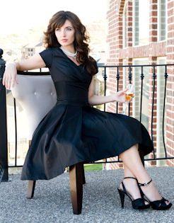 A little black dress...