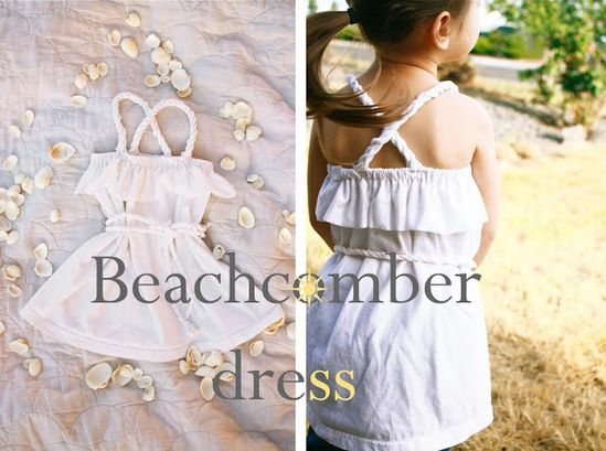 Beachcomber toddler dress tutorial