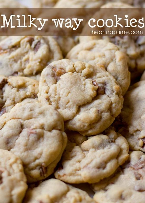 Super soft chocolate and caramel milky way #cookies   #recipes