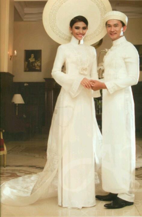 Ao dai cuoi, wedding dresses