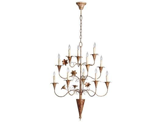 Bloomy Chandelier - Home and Garden Design Ideas