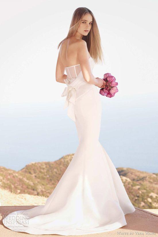 White by Vera Wang Spring 2012 Wedding Dresses