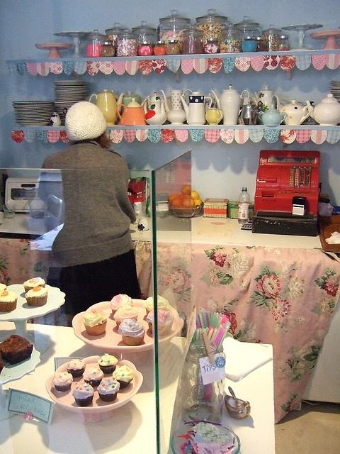 The Cupcake Bakery, Zionskirchstraße, Berlin.