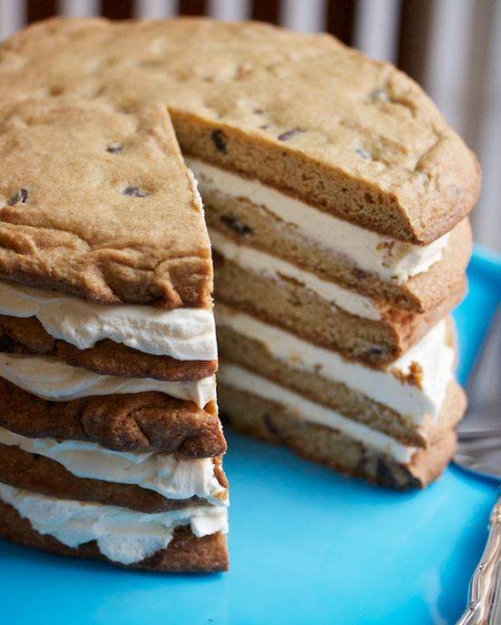 Chocolate Chip Cookie Cake!