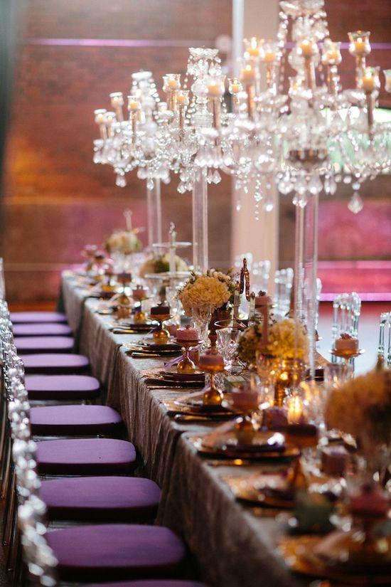#party #reception #wedding #decor