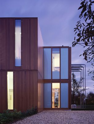 timber boxes house architecture ideas