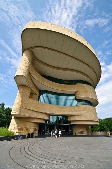 Smithsonian National Museum of the American Indian by David Coleman