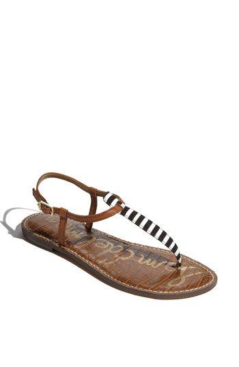 sam edelman striped sandals