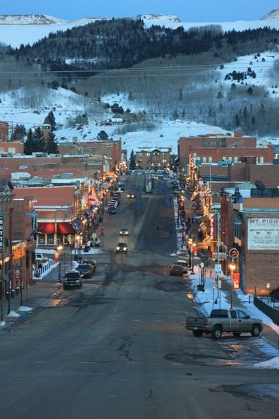 Cripple Creek, Colorado. A small town, high in the hills by Pike's Peak.