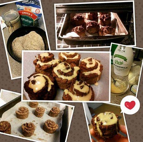 #paleo cinnamon rolls! #glutenfree #dairyfree #Protein icing @brits_fit_life