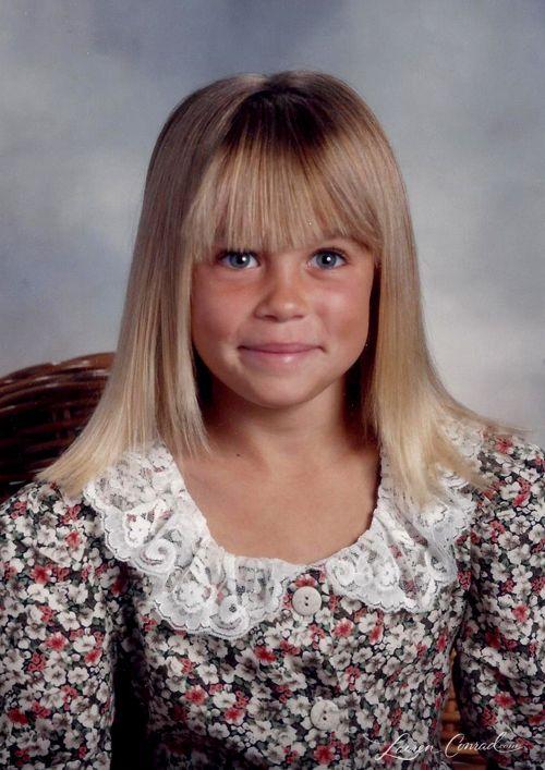 Lauren Conrad's Favorite School Portraits #tbt Lol