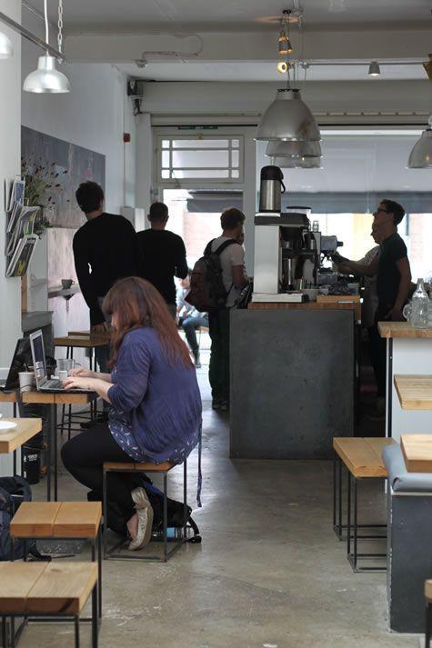 Front desk layout  Store St Espresso,