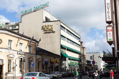 turku - turun sanomat building - Aalto