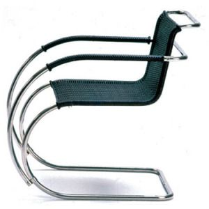 Bauhaus, Cantilever Chair by Ludwig Mies van der Rohe. This one such piece by Mies Van Der Rohe is by all definition a classic in the furniture world.