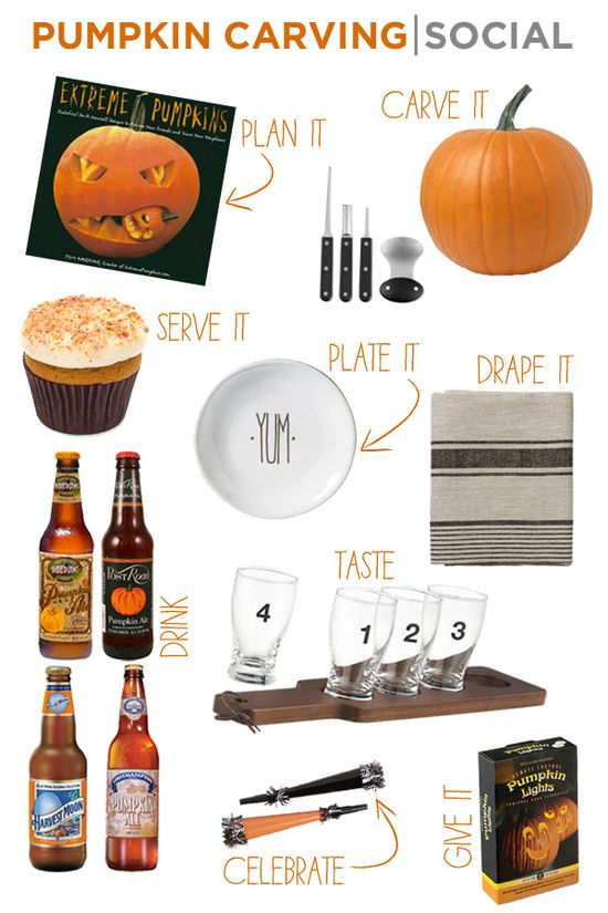 #Pumpkin #carving #party ideas