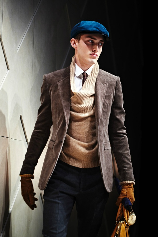 Burberry men's fall wear