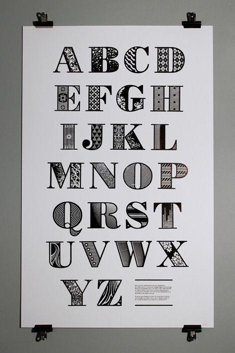 Decorative Bodoni #typography