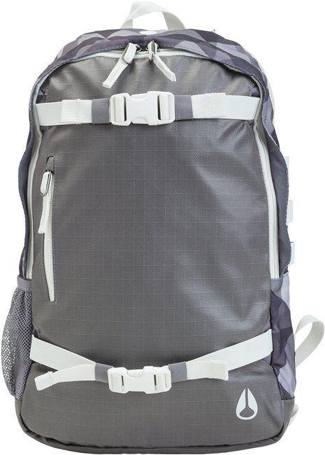 Nixon skatepack www.swell.com/... @SWELL Style gray backpack