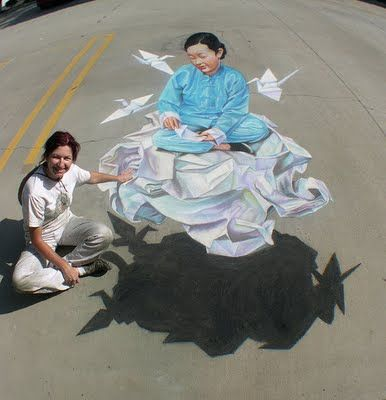 3d sidewalk art! this whole page is amazing!    manypict.blogspot...
