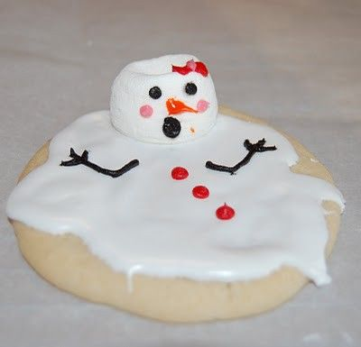 SO cute for Christmas cookies!