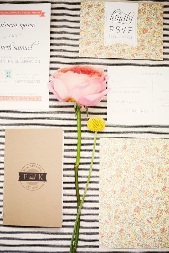 Sweet DIY invites from pscreativestudio.... Photography By / mailelaniphotogra...