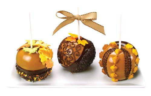 Fancy Fall Candy Apples