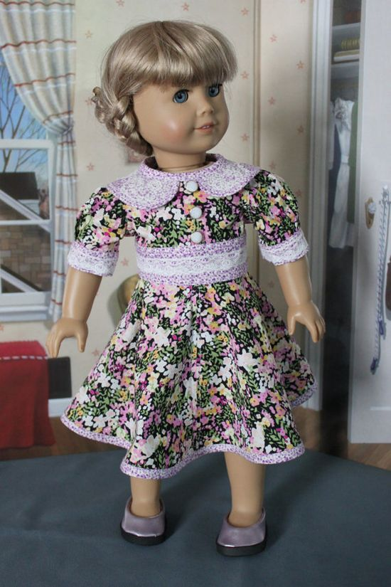 American Girl Doll Clothes  1940's 1950's by ForAllTimeDesigns, $38.00