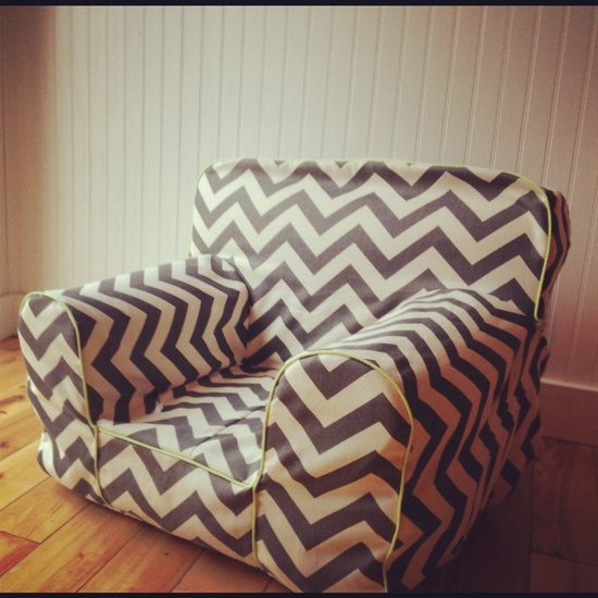 Toddler Chair - Custom made to order. $45.00, via Etsy.