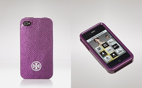 Tory Burch iPhone Case - Saffiano Print Hardshell