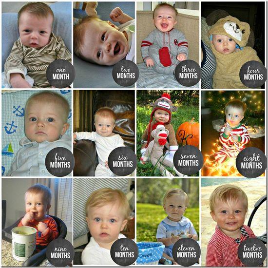 12 months of baby boy