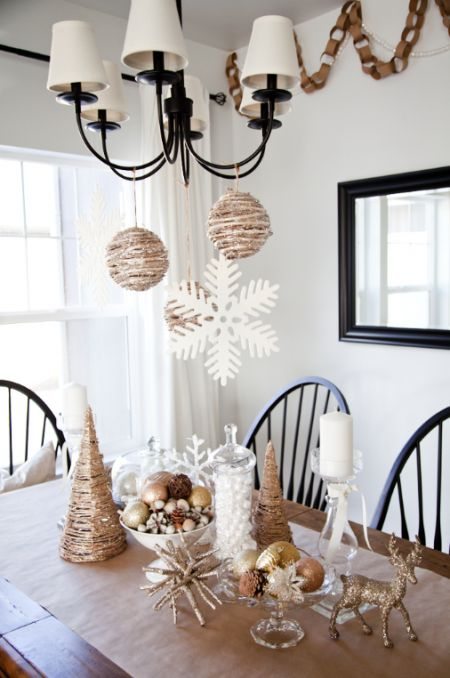 #DIY: Inspired Christmas Decorations on the Tinyprints Blog