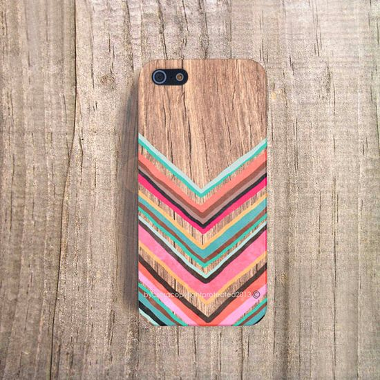 FALL iPhone Case Chevron iPhone 4 Case iPhone 5s Case Wood Print iPhone 4s Case iPhone 5c Chevron iPhone Case iPhone 4 Case Chevron iPhone 5...