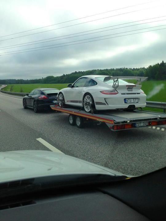 Porsche on Porsche.