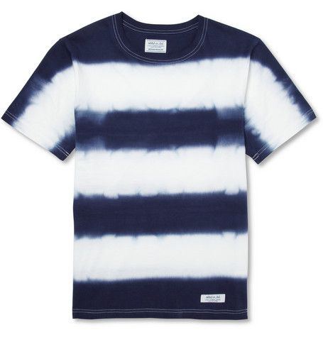 Tie-Dye striped cott