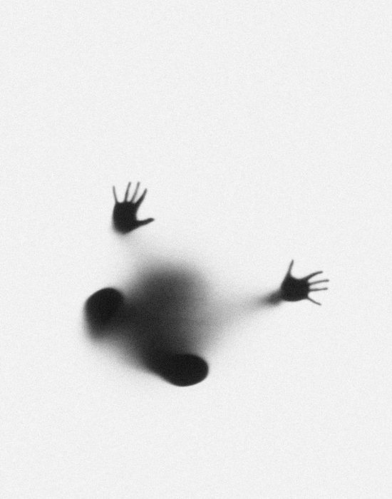 Ghostly Hands and Feet Photographed through Milk Glass by Marek Chaloupka www.thisiscolossa...