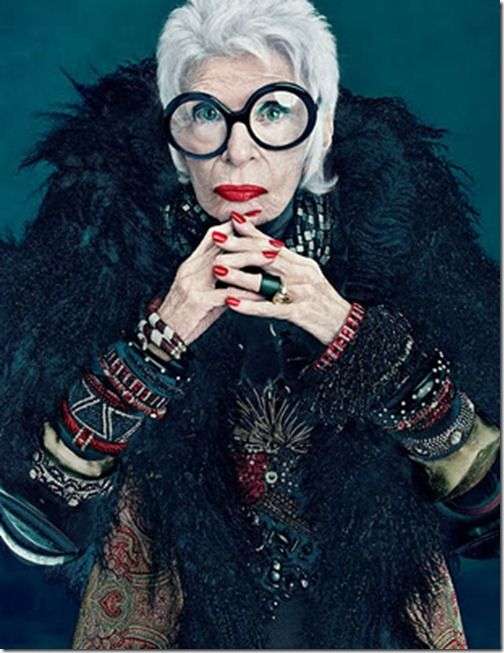 Iris Apfel for MAC, fashion icon ?