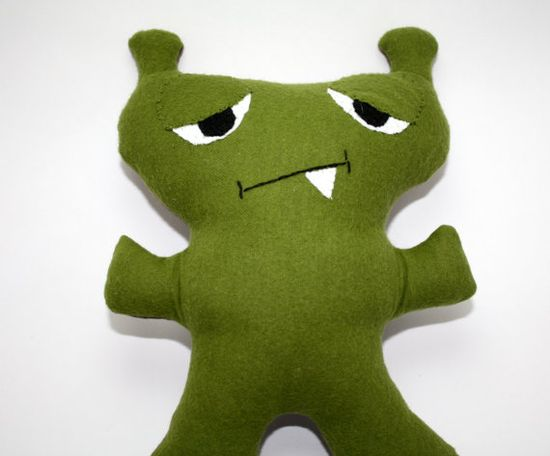 ZerkThe Monster Plush Custom Stuffed Animal by SNGInspirations, $14.00