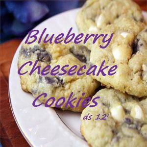 Blueberry Cheesecake Cookies!