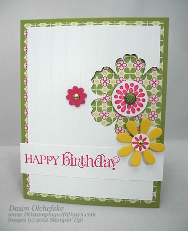 Mixed Bunch - Blossom Punch Stampin Up