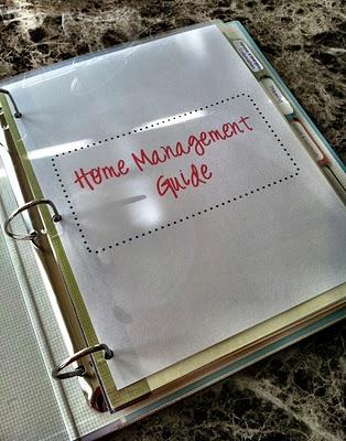 DIY Home Management Binder- Free Printables