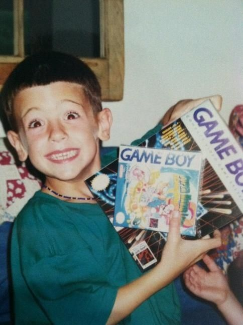 Every kid who played Game Boy in the '90s :) bahahahahaha