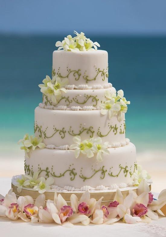 A beachy #wedding cake. #YourDreamDay