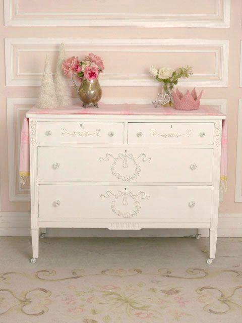 Shabby chic dresser - myshabbychicdecor... - #shabby chic #home decor #design #ideas #wedding #living room #bedroom #bathroom #kithcen #shabby chic furniture