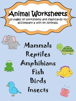 Reptiles vs Amphibians Worksheet  Easy Science Kids Free
