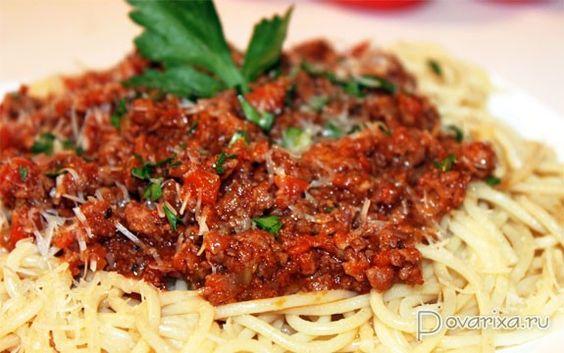 Паста болоньезе классический рецепт с пошагово